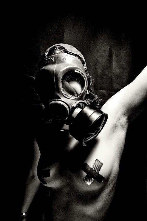 Gas Mask/ Tape.
