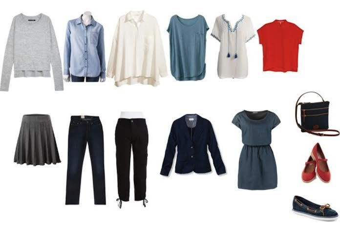 Ultimate Packing List for Women over 40: Mixed Weather ...