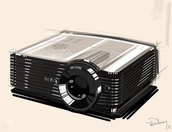 PS Sketches by Ibrahim Bozkurt, via Behance