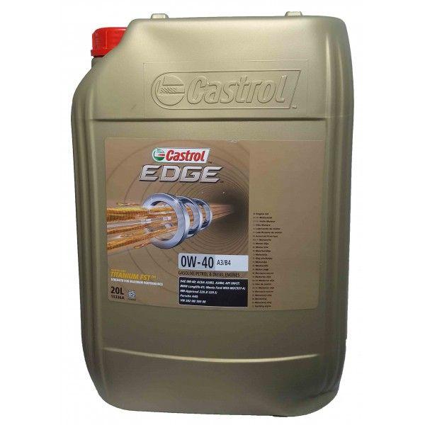 Castrol Edge Ti FST 0W-40 A3/B4 20L