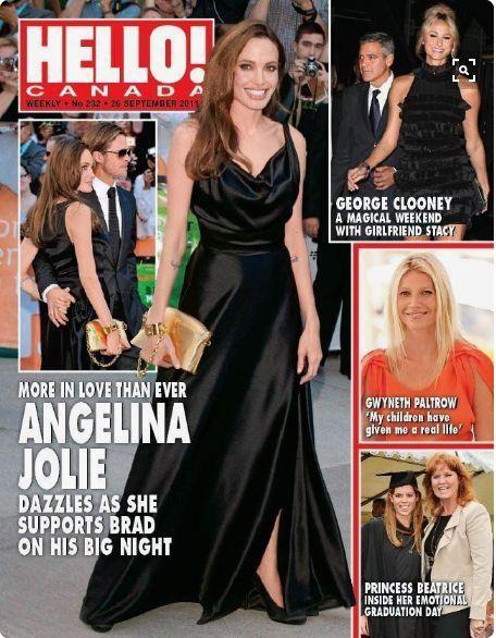 Hello! Magazine [Canada] (26 September 2011) FERGIE & BEATRICE