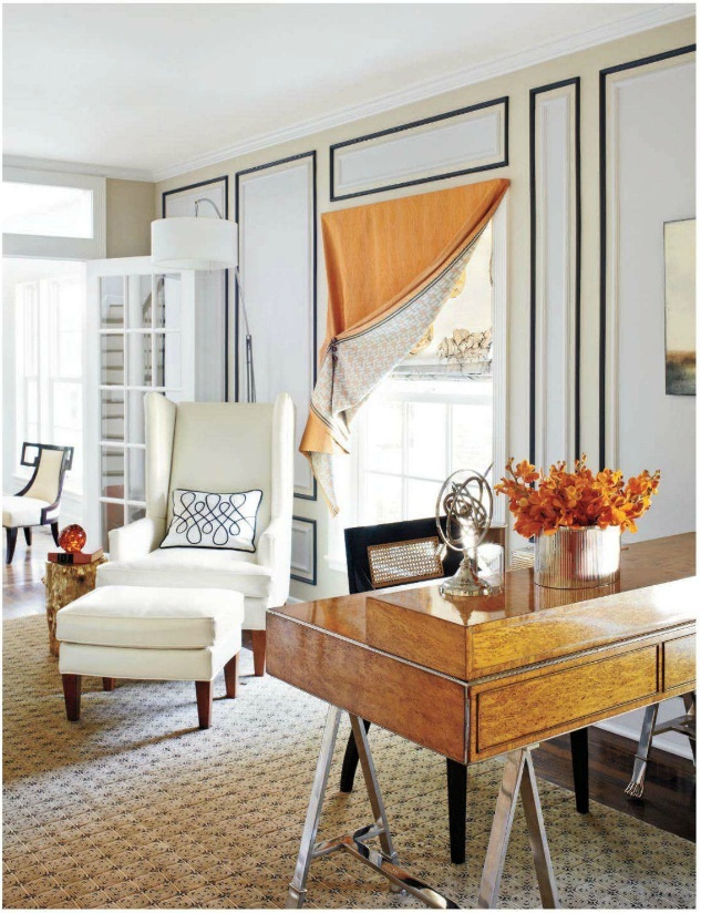 Interior design by Judi Mills Grossman as