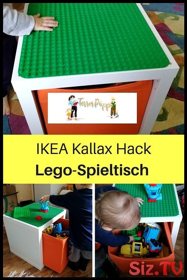 Ikea Hack für Lego Duplo Spieltisch (Kallax