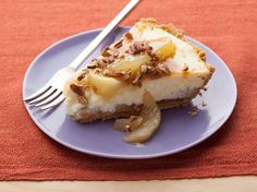 Seriously one of the best & easiest pies to make! I've even used peach pie filling and it still tasted great!   Caramel Apple Cheesecake from FoodNetwork.com