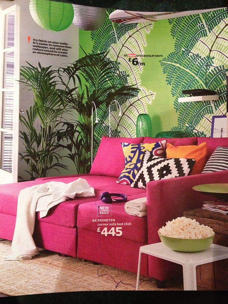 Sofa Friheten Pink Home Everydayentropy Com