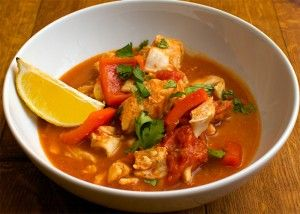 Fast & Easy Monk Fish Stew