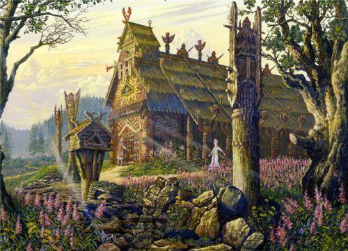 Fantasy Old Russia. Svesvolod Ivanov