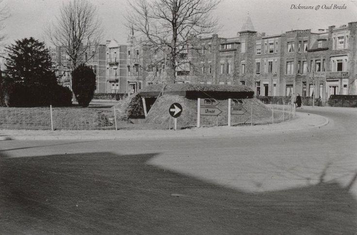 Schuilkelder op het Engelbert van Nassauplein. 1940-1945