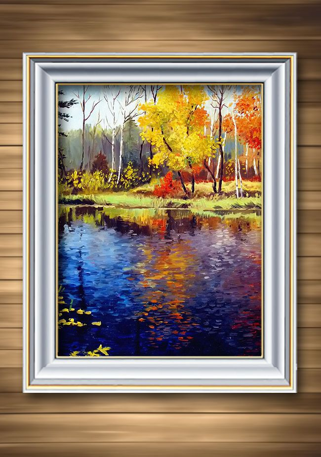 Oil Paintings For House Decoration