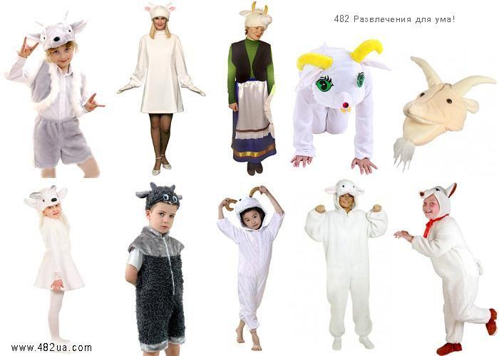 Коллекции новогодних костюмов