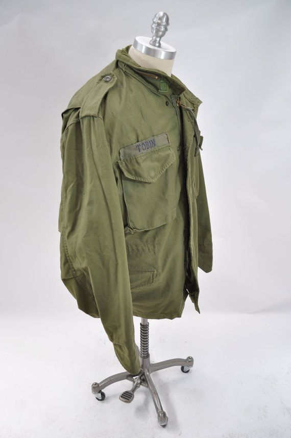 M65 vintage military army field jacket coat TAXI by andyhaul