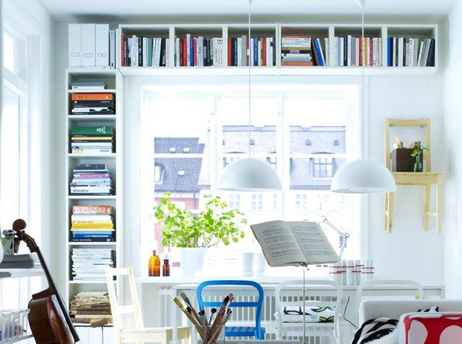 Ranger une petite surface / Make oder in a small appartement : http://www.maison-deco.com/petites-surfaces/rangement-gain-de-place/Nos-astuces-pour-ranger-une-petite-surface