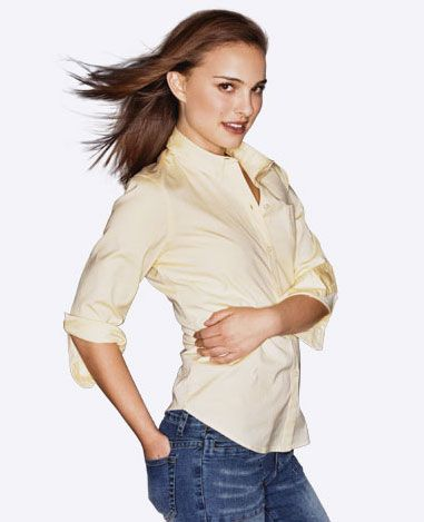 Natalie Portman for Philippine fashion clothing brand, Kamiseta.