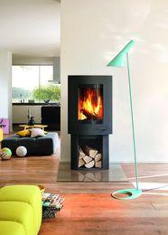 Kominke Ivo 2.0 może być wyposażony w system RLU, dzieki czemu można go zastosować w każdym domu pasywnym i energooszczędnym.