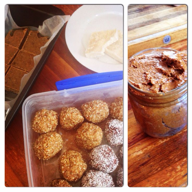 Raw and Paleo healthy treats. Almond butter , tahini slice, coconut slice, date and almond balls and raspberry and choc balls. Healthy and delicious.