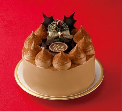 クリスマスケーキ ガトーショコラ