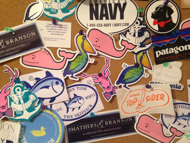 Companies that send free stickers! List of websites that offer FREE preppy stickers that will be shipped right to your house.
