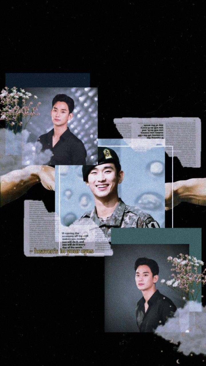 Kim Soo Hyun Wallpaper Aesthetic Black Aktor Korea Gambar Aktor