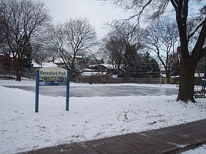 Winter fun on the Rink in Beresford Park