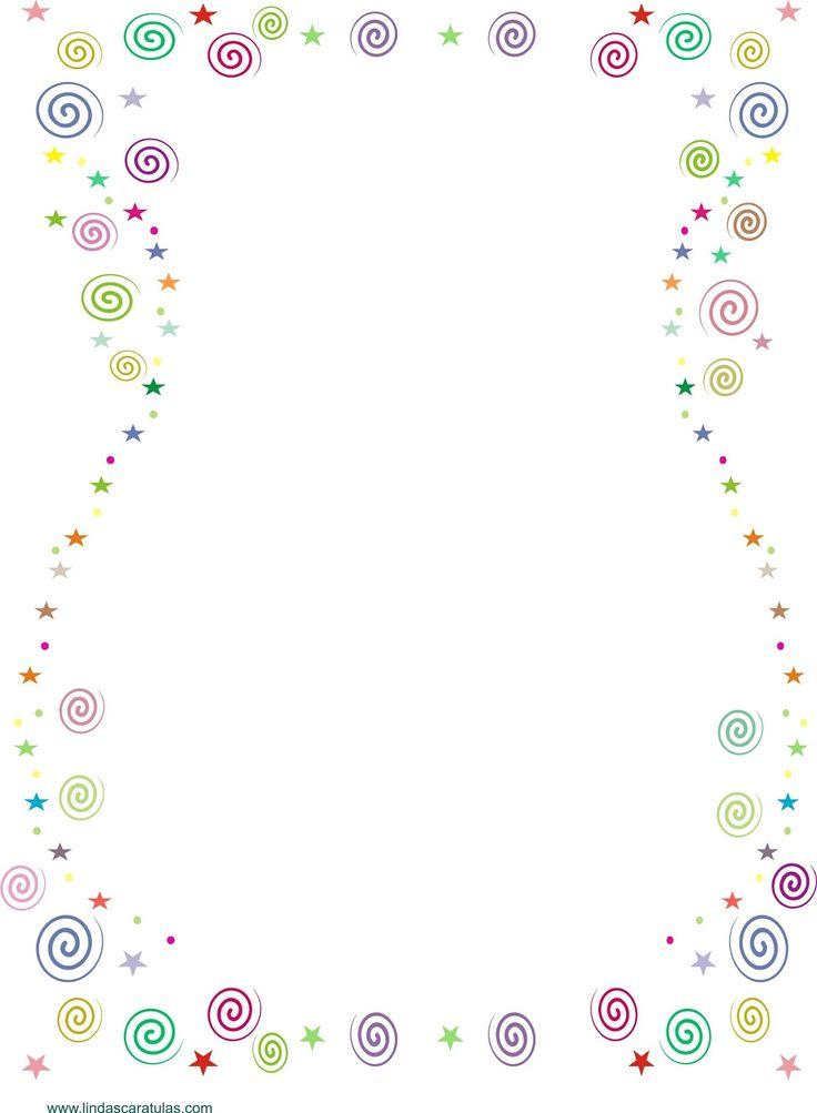 BORDERS FOR KID: Caratula de Colores
