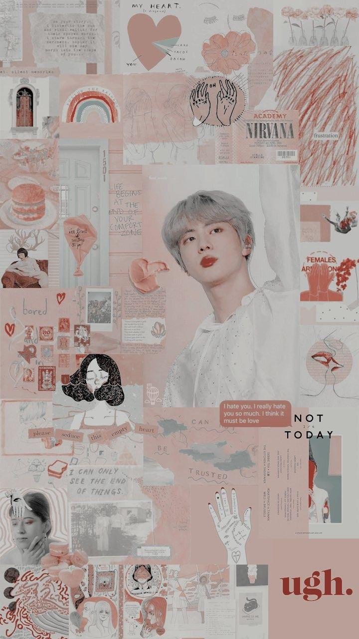 Seokjin Aesthetic Wallpaper Credits To Twitter Bangtanwpapers C Jin Seokjin Foto Lucu Kartu Lucu Gambar Lucu