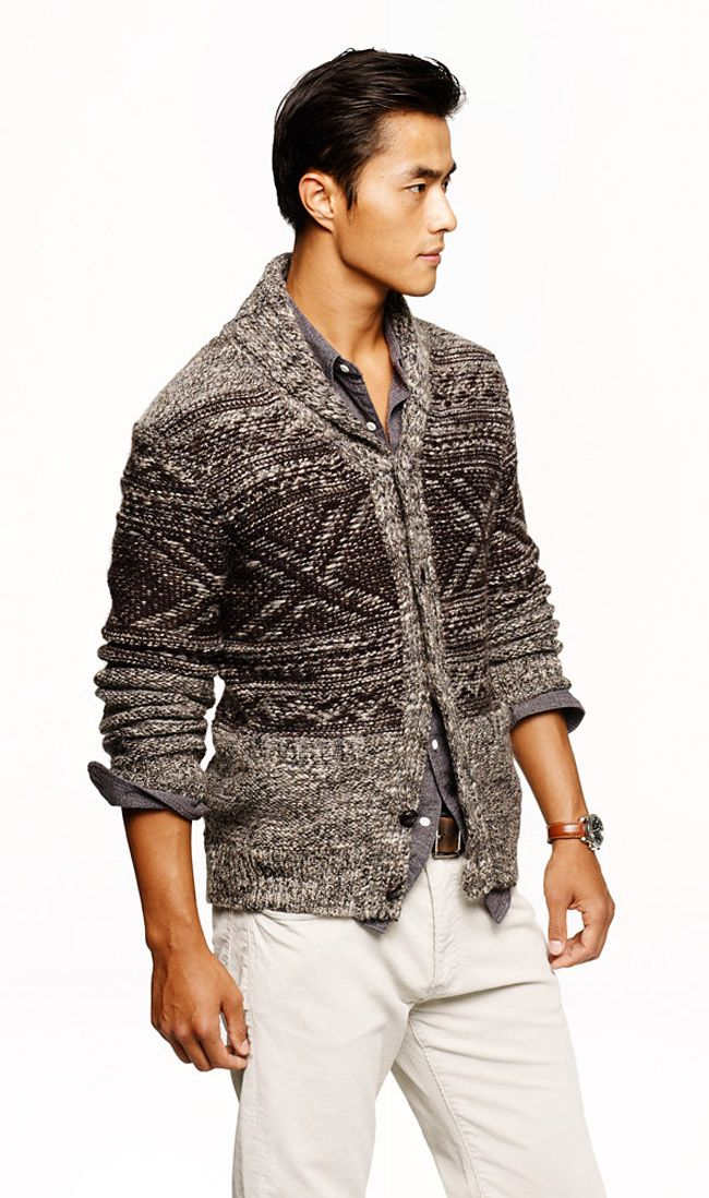 84 best Knit mens images on Pinterest | Blouses, Collars and Jumpers