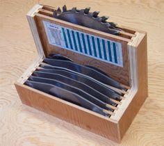 Table saw blade storage - Google Search