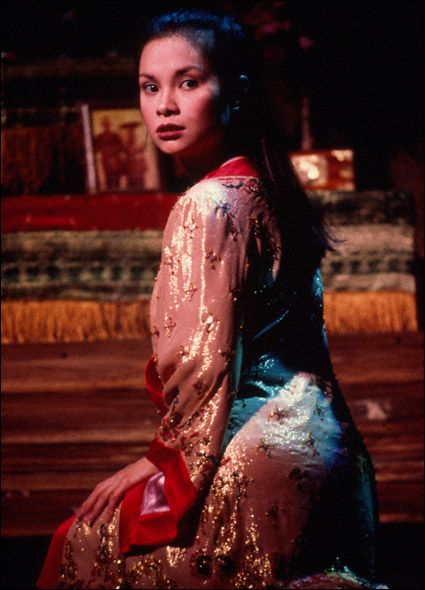 Lea Salonga in Miss Saigon: Broadway, 1991