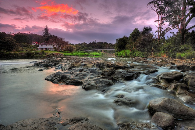 Mission House, Kerikeri Basin at Dusk by Nadly Aizat, via Flickr - Beautiful picture!