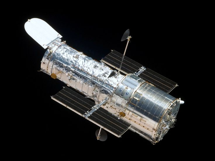 #OnThisDay: April 24 1990 - The Hubble Space Telescope was launched. (Image source: Wikipedia)