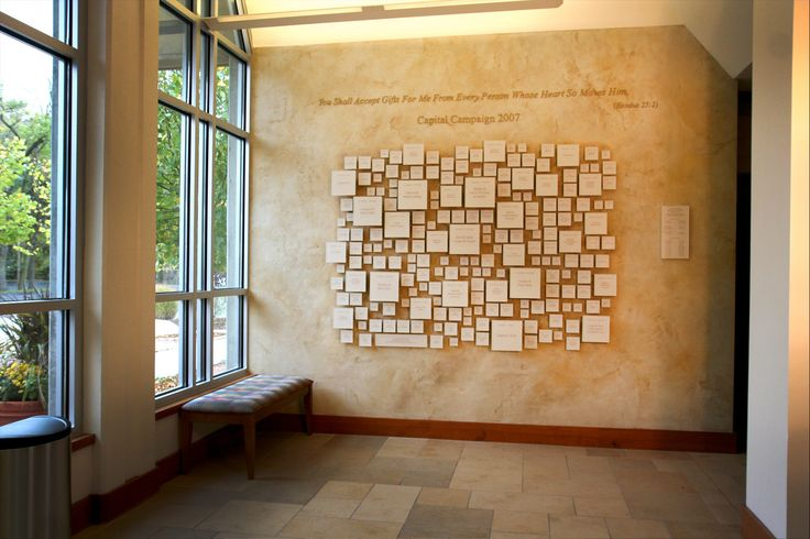 Capital Campaign Wall Donor Recognition Donor Wall Ideas