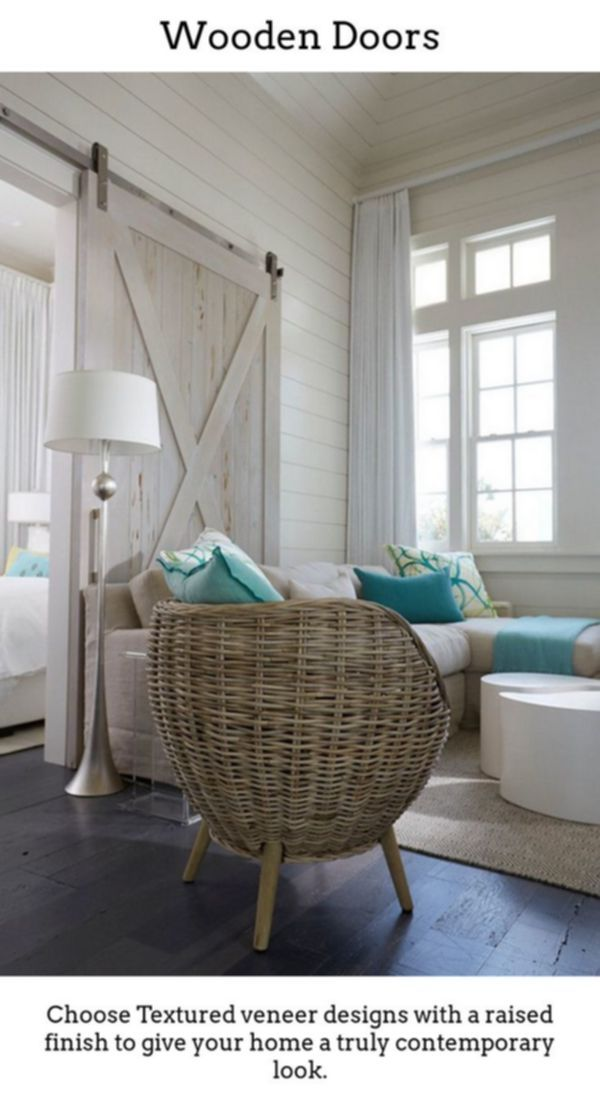 Wooden Doors Timber Doors Are Excellent If You Reside In A Period Household Or Simply Just Desir Beach House Interior Coastal Living Room Florida Beach House