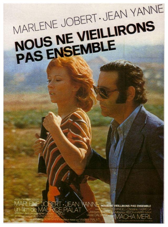 """Nous ne vieillirons pas ensemble - Maurice Pialat 1972 - DVD08133 -- """"Jean est un éternel enfant doublé d'un cinéaste raté. Marié, il ne peut se résoudre à quitter sa femme pour sa jeune maitresse qu'il côtoie depuis 6 ans: Catherine. Pourtant amoureux de cette dernière, son comportement & leurs violentes disputes les éloignent. Jusqu'à ce que Catherine lui annonce son mariage avec un autre homme. Jean impuissant face à cette situation, n'a d'autre choix que de la voir sortir de sa vie."""""""