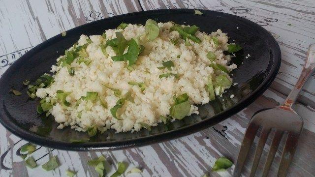Karfiolrizs (fogyókúrás, diétás köret)