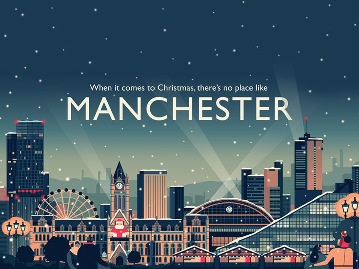 I have illustrated the 2014 Visit Manchester Christmas Campaign  Visit the website here: http://www.visitmanchester.com/what-to-do/christmas/
