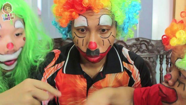 [WARNING KIDS ONLY] -  AMAZING CLOWNS  really funny joke   Tiny Clown co...