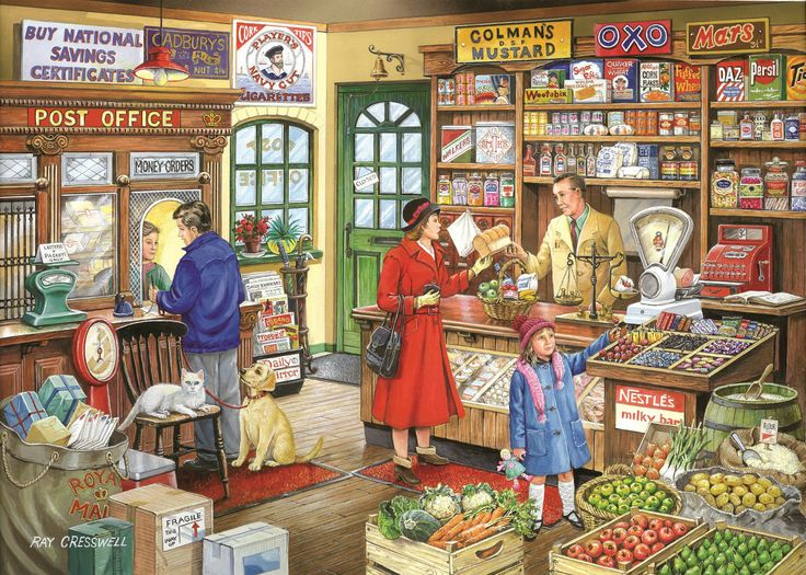 The House Of Puzzles - 1000 PIECE JIGSAW PUZZLE - Corner Shop in Toys & Games, Jigsaws & Puzzles, Jigsaws | eBay