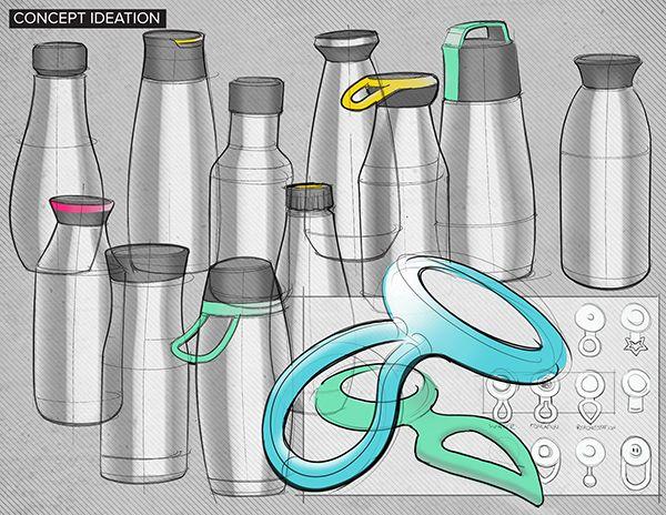 CauseBottle es una botella de agua de acero inoxidable para repensar en su consumo diario. Su característica de diseño es, un indicador gráfico impreso en la tapa que muestra cuántas botellas de agua desechables tradicionales igualan el volumen de plástico usado. Es un recordatorio simple pero altamente eficaz para ser conscientes de la huella-carbono en el planeta!  causebottle_04