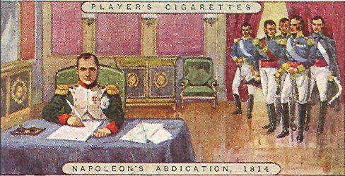 L'abdicazione di Napoleone