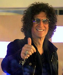 "Howard Stern is on the judging panel of ""America's Got Talent"" is an American radio personality, television host, author, actor and photographer best known for his radio show which was nationally syndicated from 1986 to 2005. He gained wide recognition in the 1990s where he was labeled a ""shock jock"" for his outspoken and sometimes controversial style."