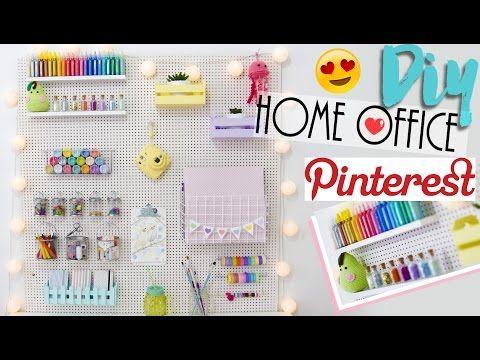 Olá pessoal! No vídeo de hoje mostro pra vocês como decorar seu home office ou craft room (o famoso quartinho da bagunça kkkk) usando pegboard! O material é ...