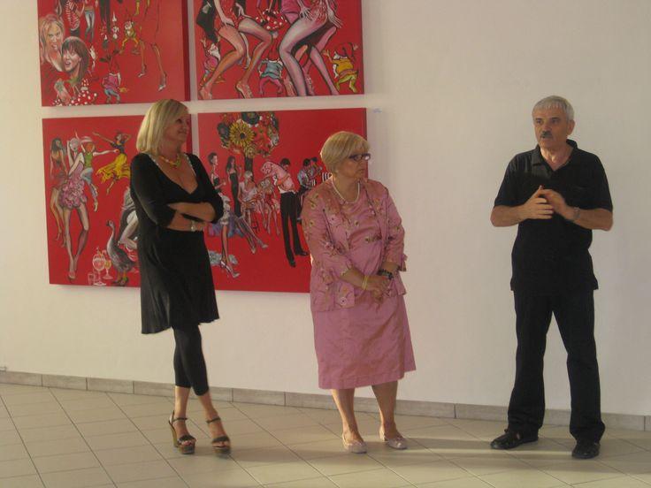 con Renata Casarin e Ferdinando Capisani