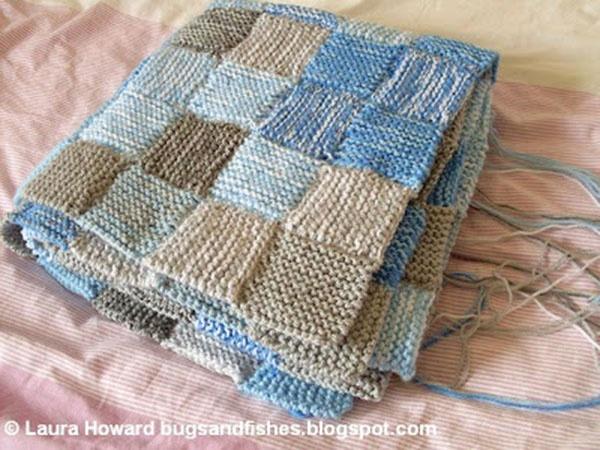 17 best Knitting inspiration images on Pinterest | Carpets ... : patchwork quilt knitting pattern - Adamdwight.com