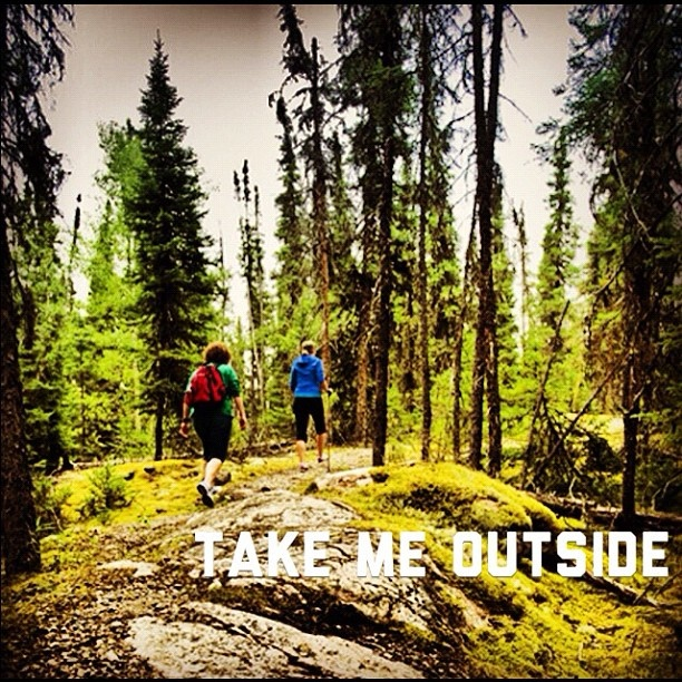 Hiking at Lac La Ronge Provincial Park #exploresask #adventure #outdoors