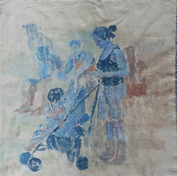 Arazzi olio su tela 50x50 cm. Atelier klavier.com