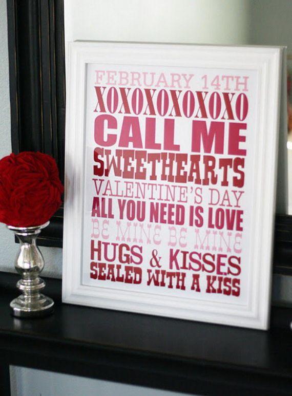 ~ Valentine's Day Decorations