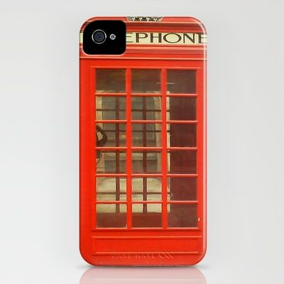 iPhone case.: Iphone Cases, Phones Covers, Telephone Boxes, Phones Cases, Iphone Covers, Mobiles Phones, Telephone Booths, Phones Booths, Red Telephone