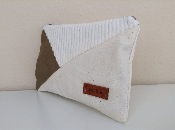 Zipper pouch by orshie on Etsy, €15.00
