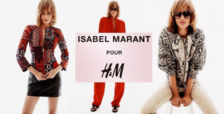 Isabel Marat for H&M!   At november a new collection for this brand!