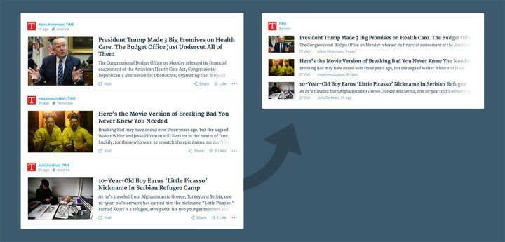 Take a look at my blogpost, folks👇 New in Reader: Combined Cards https://en.blog.wordpress.com/2017/03/21/reader-combined-cards/?utm_campaign=crowdfire&utm_content=crowdfire&utm_medium=social&utm_source=pinterest